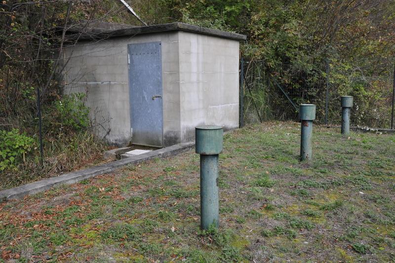 site in via Grumello località Masere nei pressi del torrente Opolo